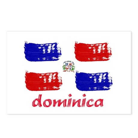 Dominica republic Postcards (Package of 8)