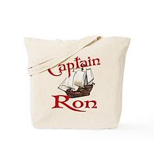 Captain Ron Tote Bag