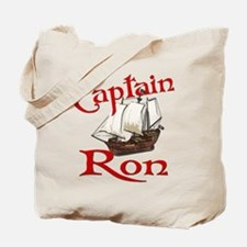 Captain Ron Tote Bag