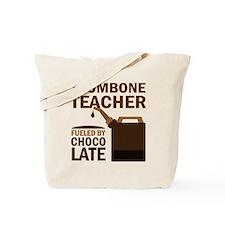 Trombone Teacher Gift Tote Bag