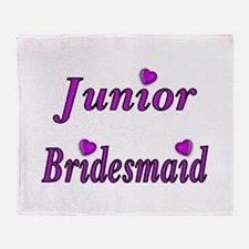 Junior Bridesmaid Simply Love Throw Blanket