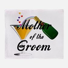 Mother of the Groom Throw Blanket