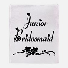 Junior Bridesmaid Throw Blanket