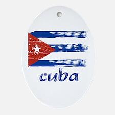 Cuba Ornament (Oval)