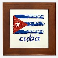 Cuba Framed Tile