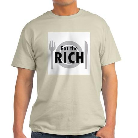Eat the Rich Ash Grey T-Shirt