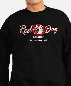 Red Dog Saloon - Black Crew Sweatshirt