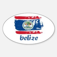 Belize Sticker (Oval)
