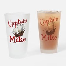 Captain Mike Drinking Glass