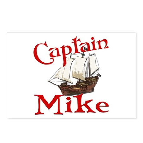 Captain Mike Postcards (Package of 8)
