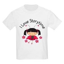 I Love Storytime Reading T-Shirt