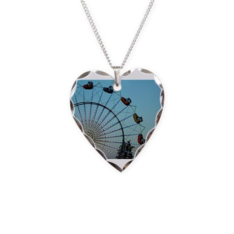 Photo's Necklace Heart Charm