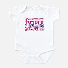 Future All Star Cheerleading Girl Infant Bodysuit