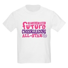 Future All Star Cheerleading Girl T-Shirt