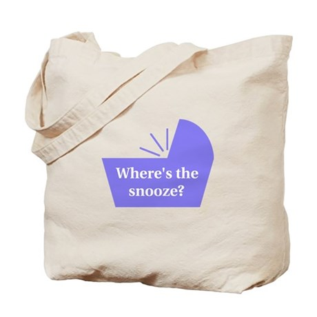 Baby Snooze Button Tote Bag
