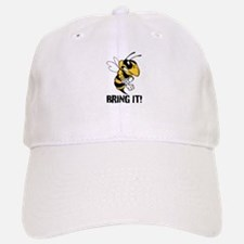 Bring It! Angry Bee Baseball Baseball Cap