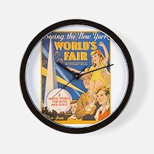 World's Fair Wall Clock