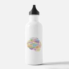 Quilter's Brain Water Bottle