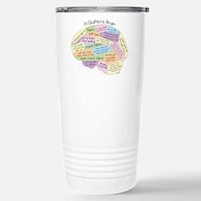 Quilter's Brain Travel Mug