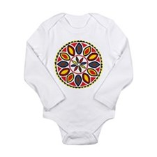 Daddy Hex Long Sleeve Infant Bodysuit