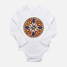 Daddy Hex Long Sleeve Infant Bodysuit
