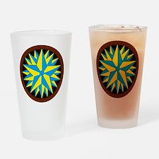 Penn-Dutch - Triple Star Hex Drinking Glass