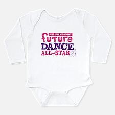 Future Dance All Star Long Sleeve Infant Bodysuit