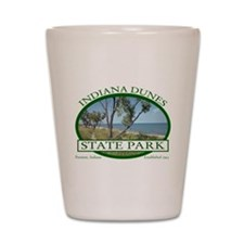 Indiana Dunes State Park Shot Glass