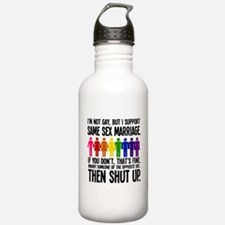 Then Shut Up Water Bottle