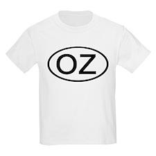 OZ - Initial Oval Kids T-Shirt