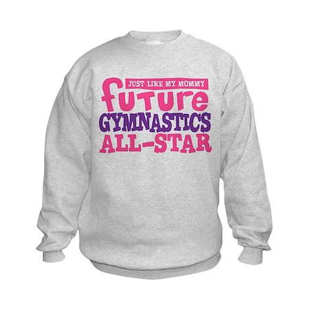 Future Gymnastics All Star Girl Kids Sweatshirt