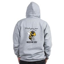Mind you own BEESWAX - Zip Hoodie