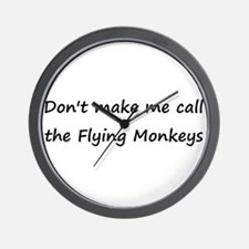 Dont judge me monkey Wall Clock