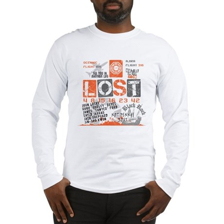 Lost Stuff Long Sleeve T-Shirt
