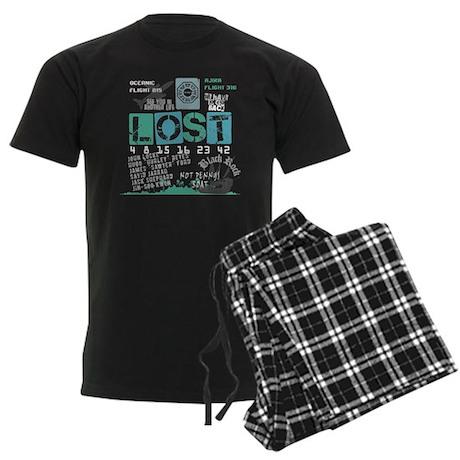 Lost Stuff Men's Dark Pajamas