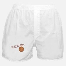 The older the Geologist... Boxer Shorts
