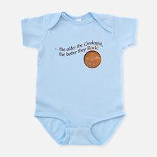 The older the Geologist... Infant Bodysuit