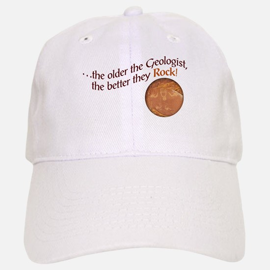 The older the Geologist... Hat