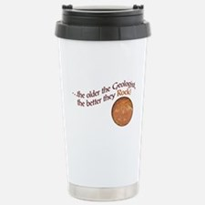 The older the Geologist... Thermos Mug