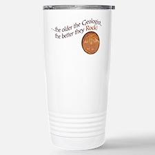The older the Geologist... Travel Mug
