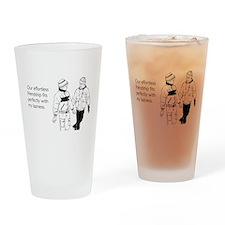 Effortless Friendship Drinking Glass