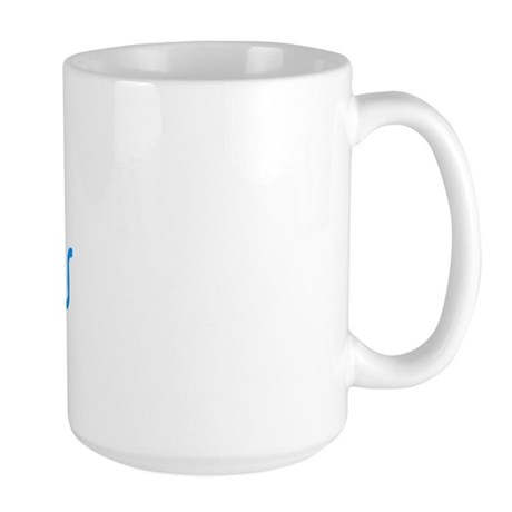 1st Time Grandmas Club (Blue) Large Mug