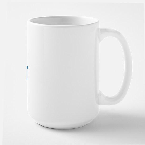 1st Time Grandmas Club (Blue) Large Mug