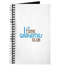 1st Time Grandmas Club (Blue) Journal