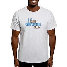1st Time Grandmas Club (Blue) T-Shirt