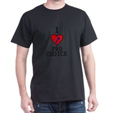 I Love Pro Choice T-Shirt
