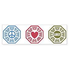 Peace Love Lost [dh_i] Bumper Sticker