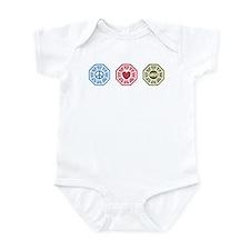 Peace Love Lost [dh_i] Infant Bodysuit