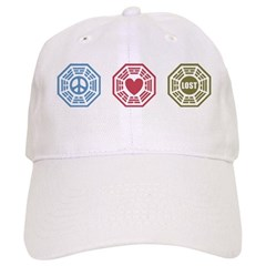 Peace Love Lost [dh_i] Baseball Cap