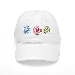 Peace Love Lost [dh_i] Baseball Cap